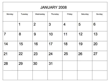 blank editable calendar templates editable 2008 blank calendar