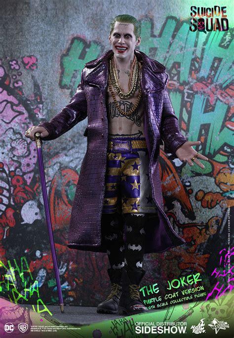 Toys Joker Squad Purple Coat dc comics the joker purple coat version sixth scale figure