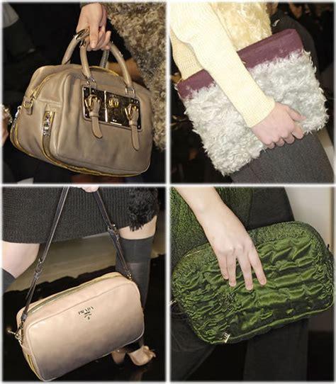 Prada Fall 2007 Bags prada fall 2007 handbags purseblog