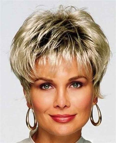 short choppy hairstyles for women over 50 fine hair best short hairstyles for women over 40 stylehitz