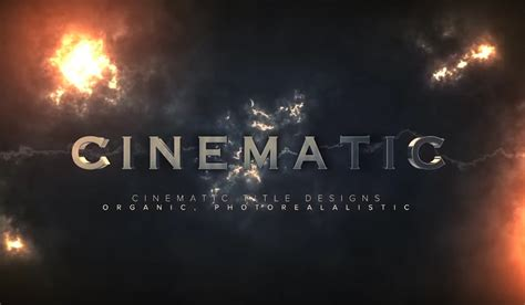 After Effects And Cinema 4d Tutorial Cinematic Titles Rocketstock Cinematic Title After Effects Template