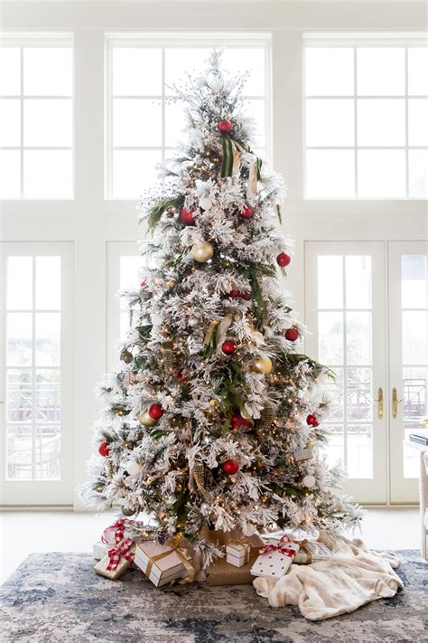 christmas tree ivory garland ideas our home for ivory