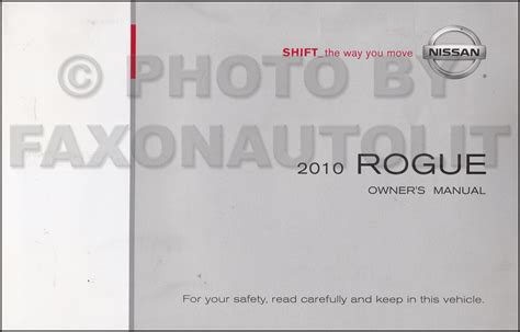 car repair manuals online free 2010 nissan rogue navigation system 2010 nissan rogue owner s manual original