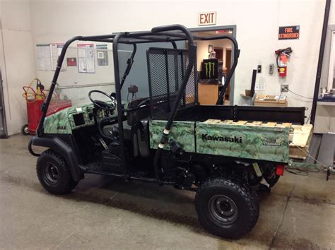 2007 Kawasaki Mule 3010 by Kawasaki Mule 3010 Trans 4x4 Camo Motorcycles For Sale In Iowa