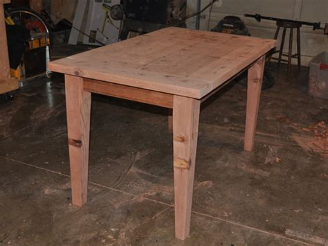 build  simple sturdy wooden table