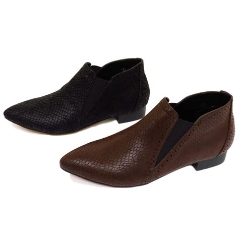 flat pointy black shoes flat dolcis black or brown pointy pull on pixie