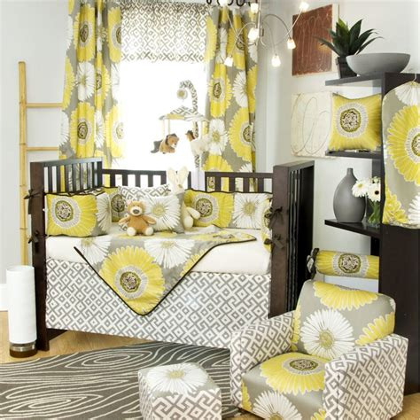 Yellow Striped Curtains For Nursery Curtain Menzilperde Net Yellow And Grey Nursery Curtains