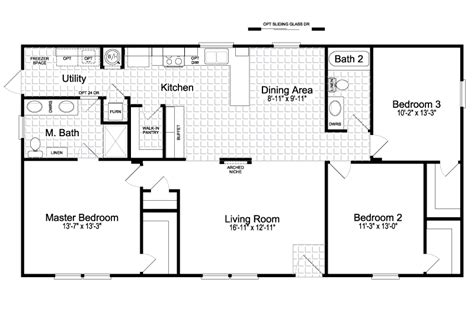 palm harbor mobile homes floor plans view the san jacinto floor plan for a 1421 sq ft palm