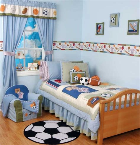 boys sports bedroom themes room design inspirations