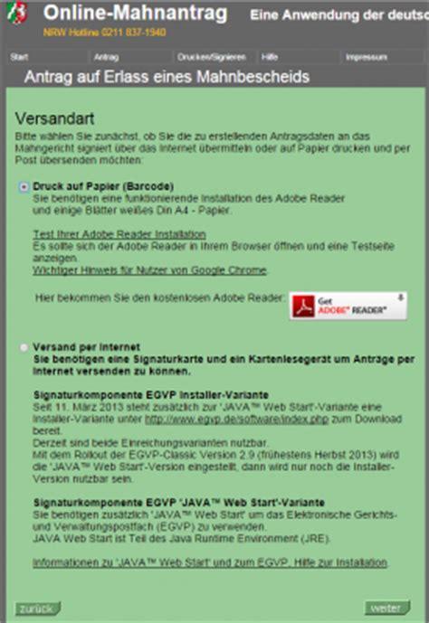 Online Mahnantrag Drucken by Lass Uns Einen Mahnbescheid Beantragen Forum Geld