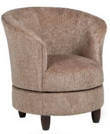 barrel accent chair best home furnishings chairs accent swivel barrel chair