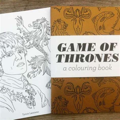 thrones coloring book etsy phenomenon coloring books of thrones