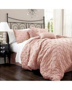 lush decor lake como 4 piece comforter set bed sets mauve and comforters bed on pinterest