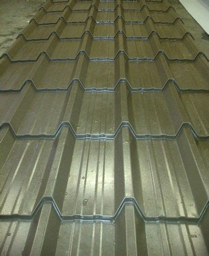 Metal Tile Roof Tiled Metal Roof Sheets Polyester Painted Steel Metal Tin Tile Roofing Sheets