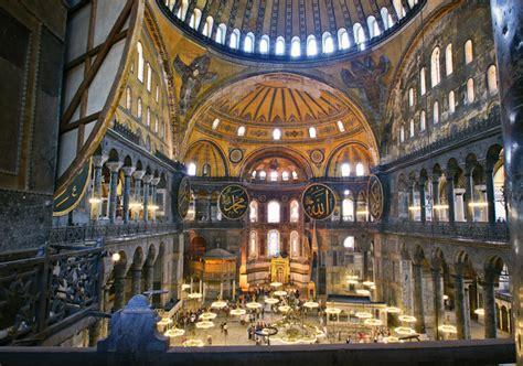 cupola di santa sofia istanbul basilica di santa sofia marmara turchia