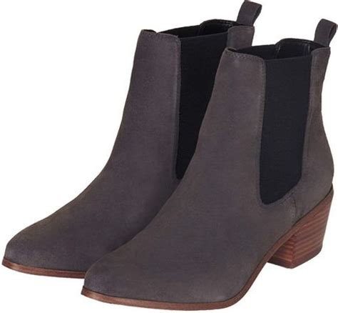 grey chelsea boots womens topshop womens annex chelsea boots grey in gray grey lyst