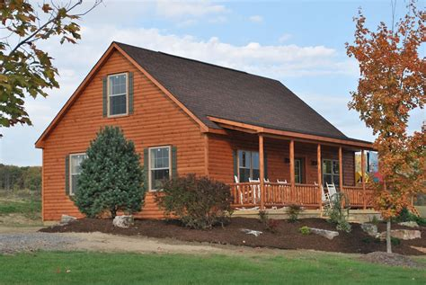 cabin home deluxe mountaineer log cabin home pennsylvania maryland