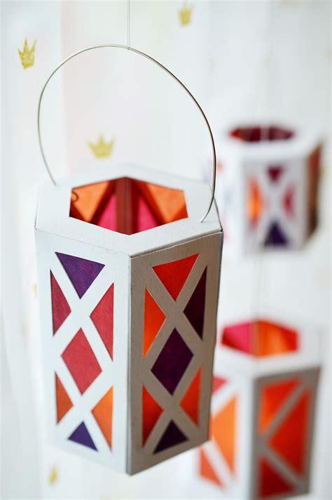 3d lantern template celebrations diy paper lanterns motte