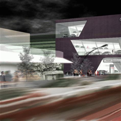 Audi Hamburg Wichert by Audi Ag Wichert Gmbh Langenhorn Architecture Hh