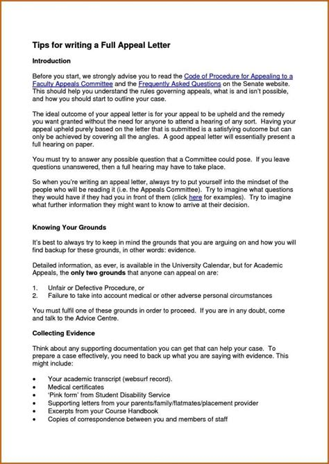 secondary school appeal letter examples sampletemplatess