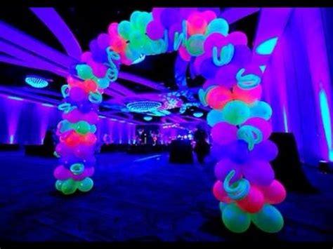 lights theme comprinhas da minha festa neon