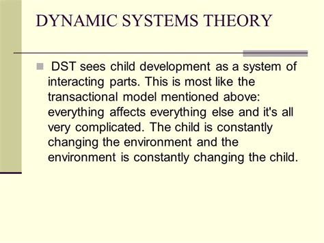 dynamic pattern theory exles exle of dynamic systems theory of motor development