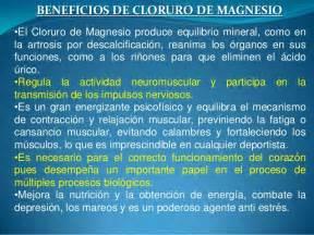 sales de magnesio contraindicaciones beneficios del cloruro de magnesio 2013 1