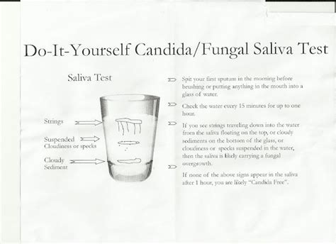 spit test redness around yeast infection candida cleanse spit test