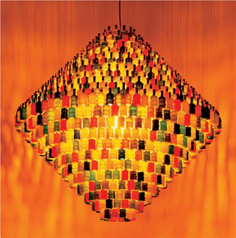 More Clever Lighting From Stuart Haygarth by Stuart Haygarth S Recycled Lighting Design Inhabitat