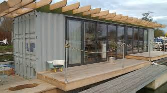 shipping container homes cost floating shipping container makes ideal low cost home