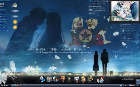 theme windows 7 kimi ni todoke kimi ni todoke desktop by zoei chan on deviantart