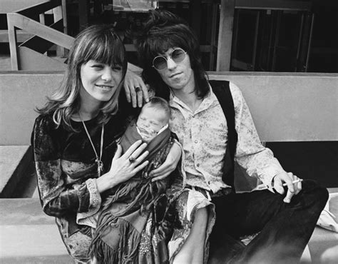 St Kid Hansen De keith richards with his pallenberg and
