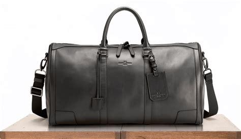 black leather weekender bag weekender bag or duffle bag best leather canvas options