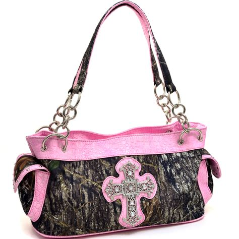 mossy oak pink camo clothing mossy oak camouflage pink cross purse handbag