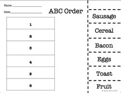make your own abc order worksheet category worksheets simply special ed