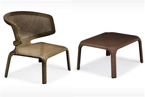 Dedon Patio Furniture Patio Things Dedon Seashell Collection Armchair Barstool Chair Footstool Lounge
