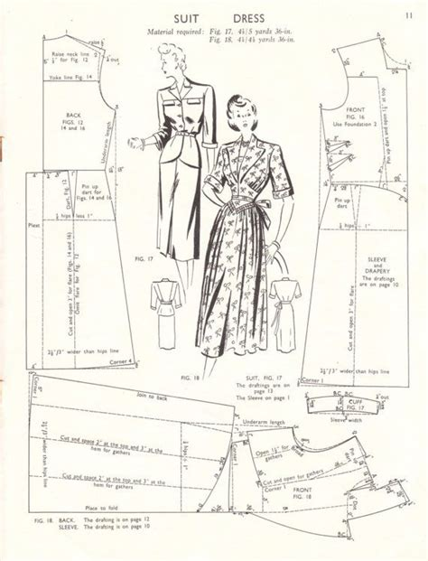 vintage pattern drafting vintage 1940s pattern drafting booklet haslam system