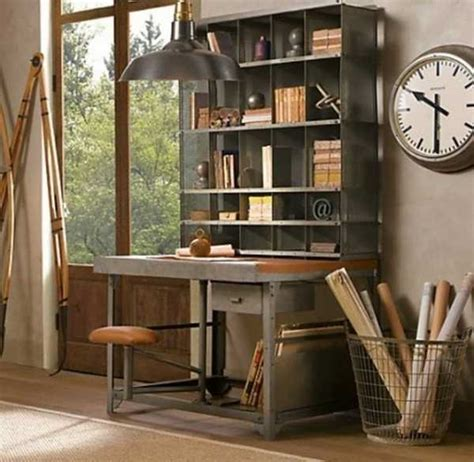 Vintage Home Office Furniture with 30 Modern Home Office Decor Ideas In Vintage Style