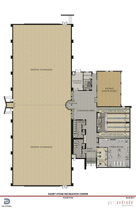 recreation center floor plans recreation center gets update ferguson road initiative