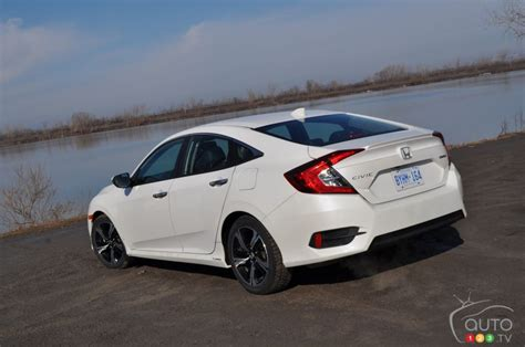 2016 Civic Touring Specs by 2016 Honda Civic Sedan Touring Pictures Auto123