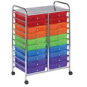 buy mobile storage cart 20 drawer multi os1