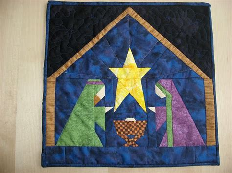 quilt pattern nativity scene paper pieced nativity paper piecing pinterest nativity
