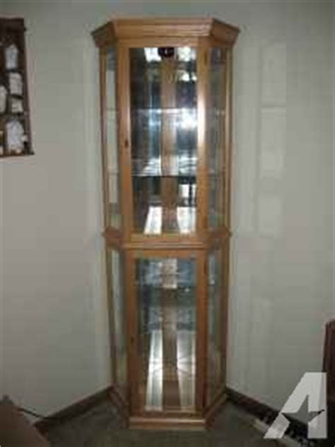 curio corner cabinet longmont for sale in denver