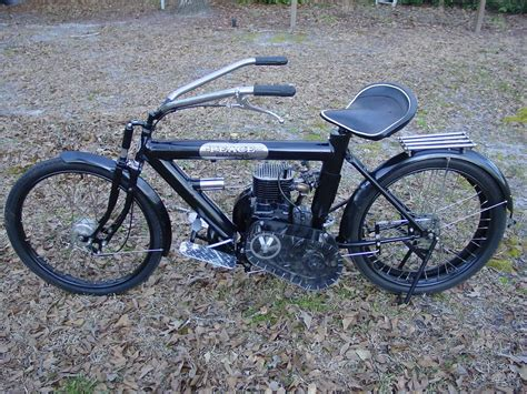 strange home made motorcycle