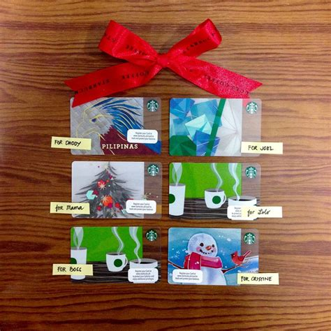 Starbucks Philippines Gift Card - starbucks collection promo 6 card designs loaded with p300 each for only p1 500