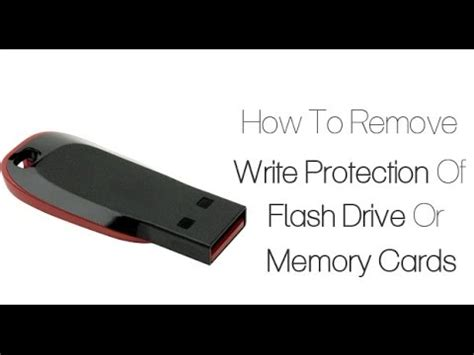how to make sd card work again how to remove write protection of flash drive or memory