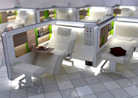 design concept of hospital recovery lounge boex