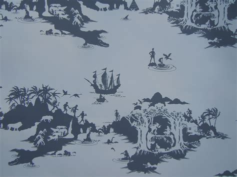 peter pan bedroom wallpaper peter pan wallpaper charcoal on pale grey from emma molony made by emma molony