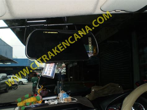 Paket Tv Spion 7 Inci Free Gratis Kamera Mundur Led Dan Antena Tv baru paket murah tv spion monitor kamera mundur mobil