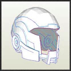paper helmet template mass effect size open version n7 breather helmet
